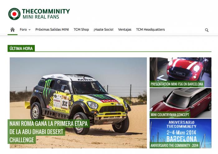 TheComminity nueva web