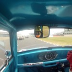 Endaf Owens Historic Mini cooper S at Silverstone Classic Masters 2013