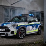 Un MINI para la Policía alemana.