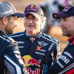 Carlos Sainz listo para el Dakar 2019.
