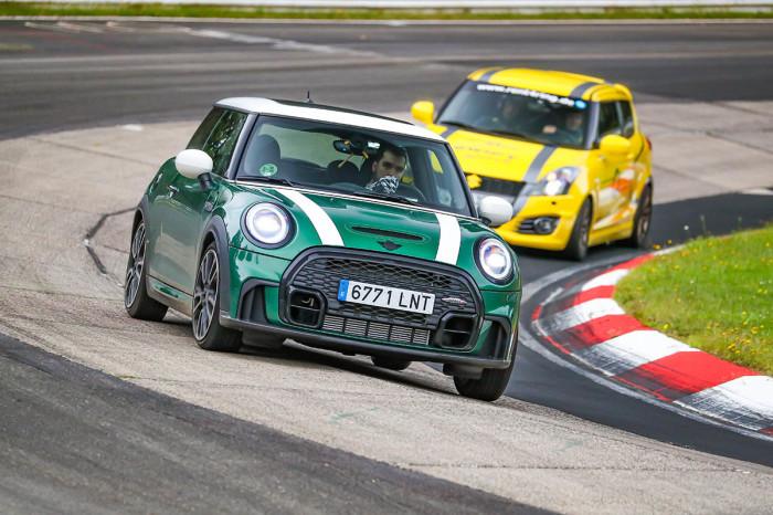 Ivan Zafra MINI Cooper S Nurburgring